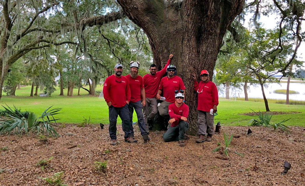 Naples, FL Tree Services Volunteers Post Hurricane Michael in Marianna, FL | Signature Tree Care